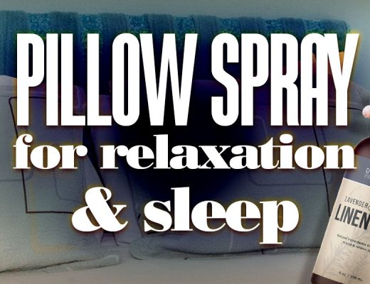 PillowSprayForRelaxationSleep
