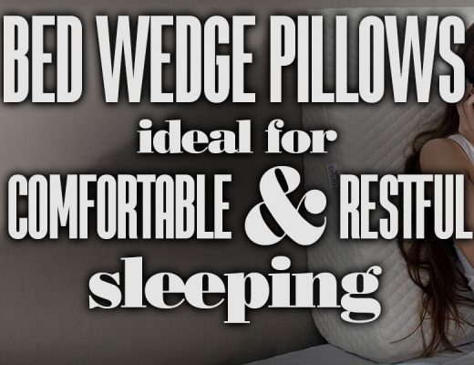 BedWedgePillowsIdealForComfortableRestfulSleep