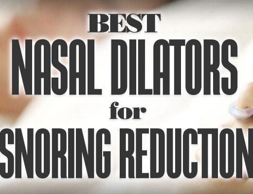 BestNasalDilatorsForSnoringReduction
