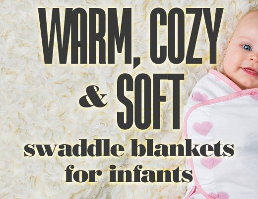 WarmCozyAndSoftSwaddleBlanketsForInfants