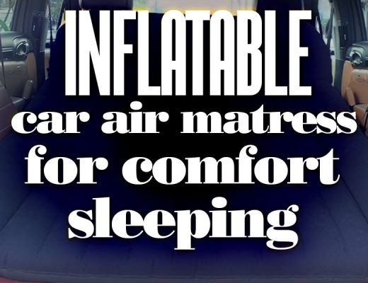 InflatableCarAirMattressPadForComfortSleeping